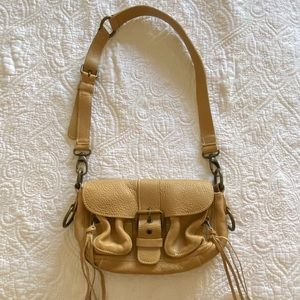 NWOT Roots leather bag